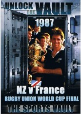Sports Vault, The - Rugby Union World Cup 1987 NZ VS France