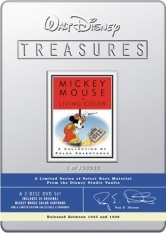 Walt Disney Treasures - Mickey Mouse In Living Colour