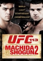 UFC Volume 113 - Machida vs. Shogun 2