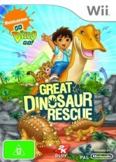 Go Diego Go! Great Dinosaur Rescue [Wii]