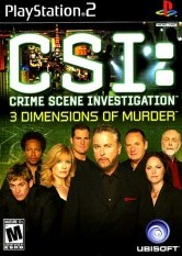 CSI: 3 Dimensions of Murder [PS2]