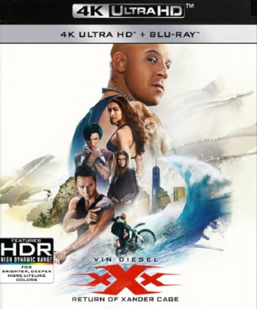xXx: The Return of Xander Cage 4K